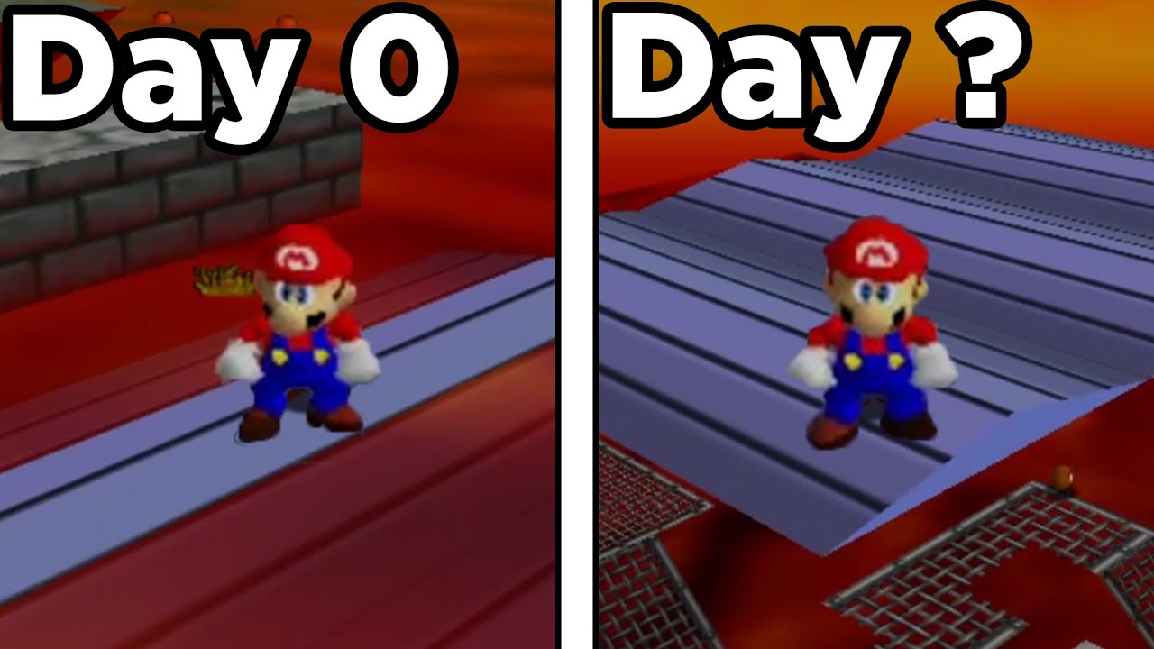 Download I left mario 64 running for 27 days. heres what happened.
