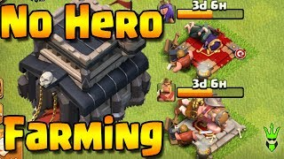 BEST NO HERO DE FARMING FOR TH9! - Loonion Dark Elixir Farming at Th9 - Clash of Clans