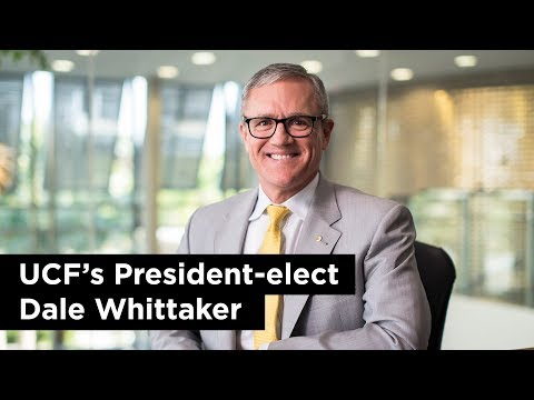 UCF's President-elect Dale Whittaker