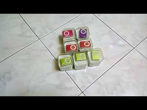 Unboxing of 7pcs MP3 player set with metal body