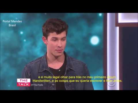 Shawn Mendes no The Talk