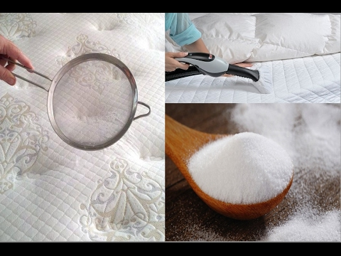she sprinkles baking soda all over the bed the reason will amaze youtube. Black Bedroom Furniture Sets. Home Design Ideas