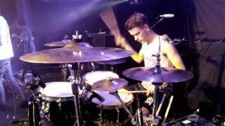 Cytota - Absorption LIVE drum play-through (Birmingham, HMV institute, 21/3/13)