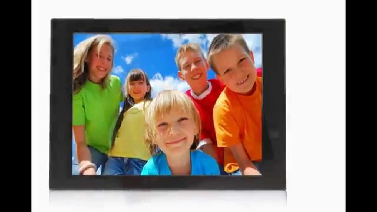 pixstar 104 fotoconnect fotoconnect xd digital picture frame with wi fi email upnp black