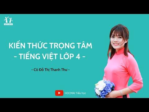 Lớp 4 | Tiếng Việt | Kiến thức trọng tâm | HOCMAI