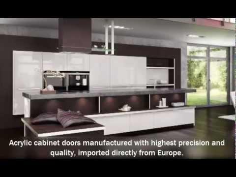 Modern Cabinet Doors   Acrylic Style