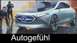 Mercedes A-Class electric? EQA Compact EV Concept vs EQC REVIEW IAA 2017 - Autogefühl