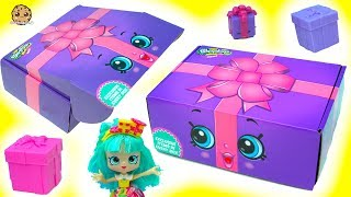 Life Size Shopkins Present? Shopkins Direct Box with Surprise Exclusive Items Inside thumbnail