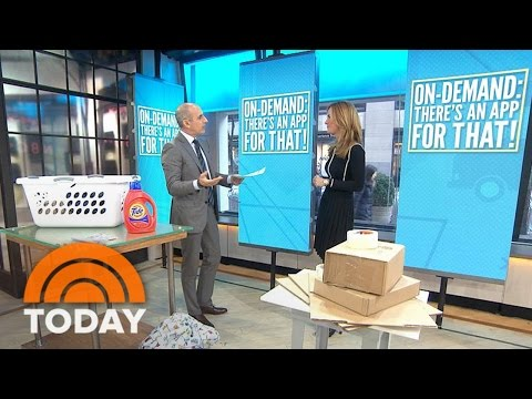 Helpful Apps For On-Demand Shopping, Parking And More | TODAY