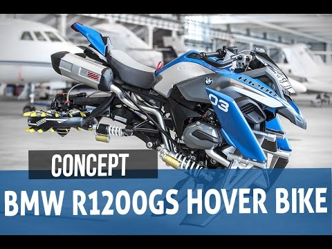 hot) bmw hover bike r1200gs amazing concept - youtube