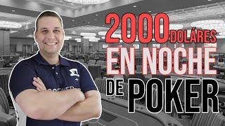 Con 120 dólares gané 2000 dólares en una noche / #Pokersensei #Pokerflorida