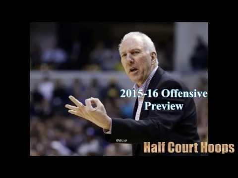2015-16 NBA Offensive Preview: San Antonio Spurs