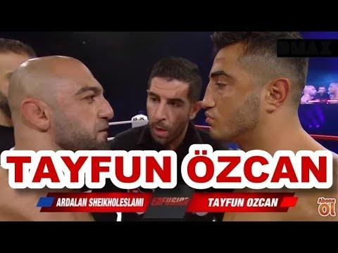 Tayfun Özcan & Ardalan Sheikholeslami Enfusion Hamburg Kickboks Ünvan Maçı