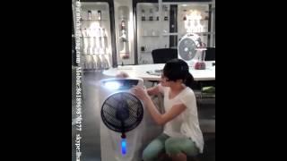 Rechargeable fan 12inch mist fan
