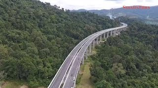 New Rawang Bypass creates impression of driving through mist