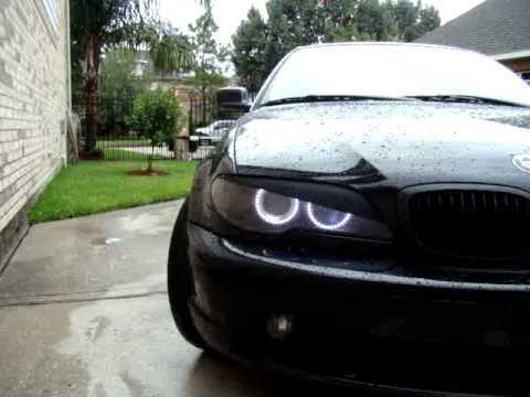 e46 facelift coupe multicolor angel eyes youtube. Black Bedroom Furniture Sets. Home Design Ideas