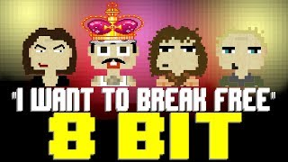 I Want To Break Free 8 Bit Tribute To Queen The Bohemian Rhapsody Movie 8 Bit Universe