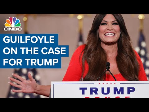 Kimberly Guilfoyle on the case for Donald Trump Trump campaign fundraiser Kimberly Guilfoyle speaks during the 2020 Republican National Convention about her support for President Donald Trump, and ..., From YouTubeVideos