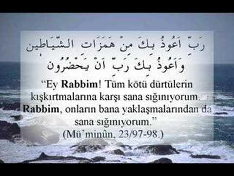 Kur'an-ı Kerimdeki  Bazı Dua Ayetleri ve meali