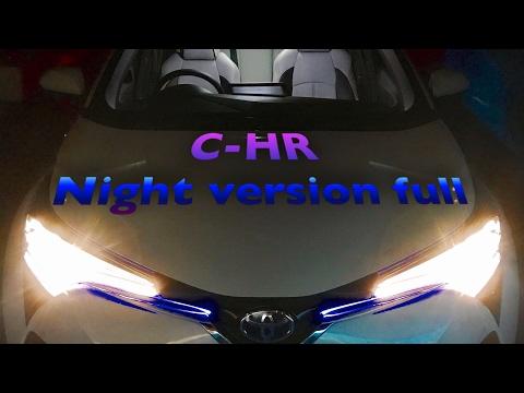 【Night version】TOYOTA C-HR HV G ホワイトパール 大っきいサイズで撮り直しw