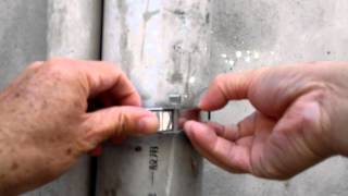 Ratchet banding strap (Ratchet stainless steel cable tie : RT1)