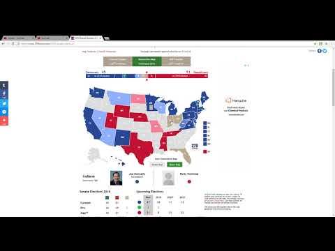 2018 Senate Election Prediction: Indiana and Ohio