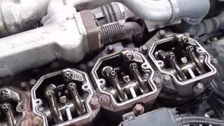MAN D 2876 - engine running - part. 1