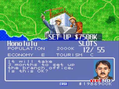 Let's Play Aerobiz Scenario 1 Part 01