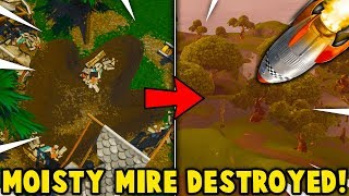 MOISTY MIRE IS GETTING DESTROYED BY THE LEVIATHAN! (Fortnite Season 4 Ending Confirmed)