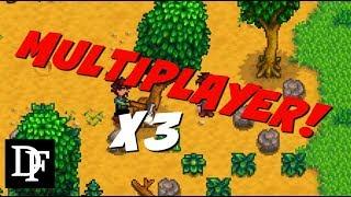 Multiplayer! Makeshift Multiplayer Mod! - Stardew Valley Gameplay HD