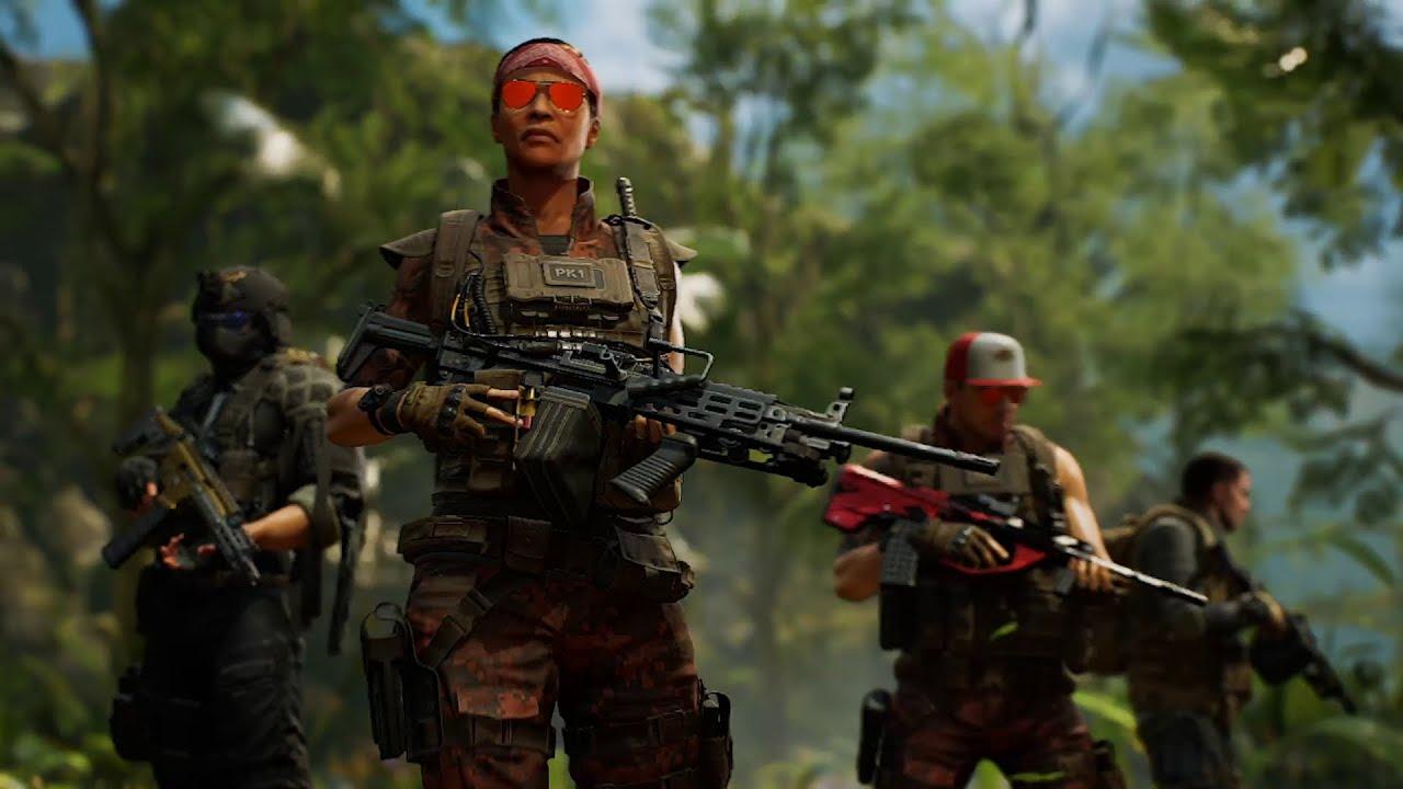 PS4『Predator: Hunting Grounds』周末搶先體驗活動「菁英衝鋒隊」預告片