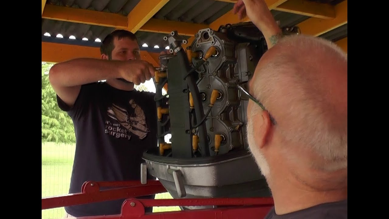 Outboard Overheating, Seizing, and Dying