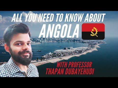 REAL LIFE WAKANDA: ANGOLA HISTORY, POLITICS, GEOGRAPHY, CULTURE