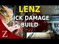 Lenz Build - Warframe Plains of Eidolon Gameplay