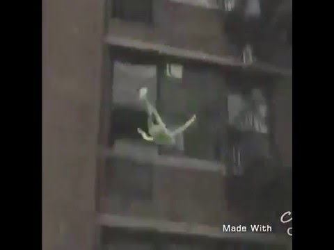 Kermit The Frog Jumps Off Roof Teaching Kids Abcs Vine Youtube