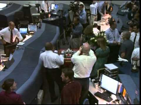 STS-135 Space Shuttle Mission Control Houston  Signs Off - Tony Ceccacci