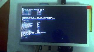 NGW100 AT32AP7000 180Mhz Display LCD WVGA 800x480 24Bit AT070TN92 color