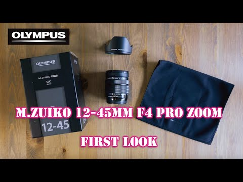 Olympus M.Zuiko 12-45mm f4 Pro First Look - RED35 Preview