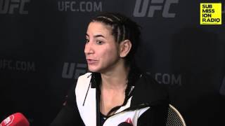 UFC 194: Tecia Torres post-fight interview
