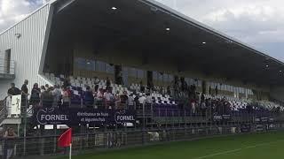 Le public découvre le nouveau stade Chanzy