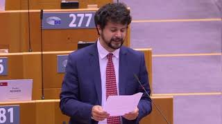 """Intervento di Brando Benifei, capo delegazione PD, su """"Istituzione di un meccanismo dell'UE per la democrazia, lo Stato di diritto e i diritti fondamentali"""""""