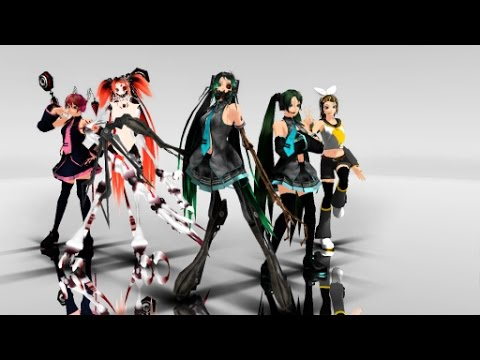 [MMD] Electrika Halloween Special With Calne Ca And Deino Models+Download Links In The Discription)