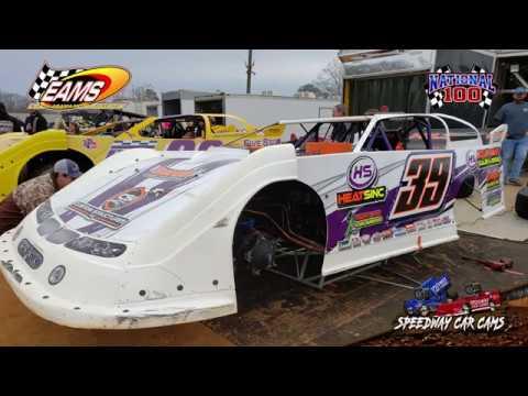 #39 Blake Smith - 604 Crate - National 100 - 1-27-19 East Alabama Motor Speedway