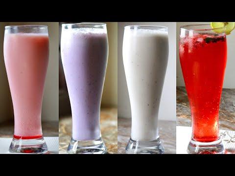 4 healthy and tasty summer drinks iftar drinks Ramadan special recipes iftar recipes