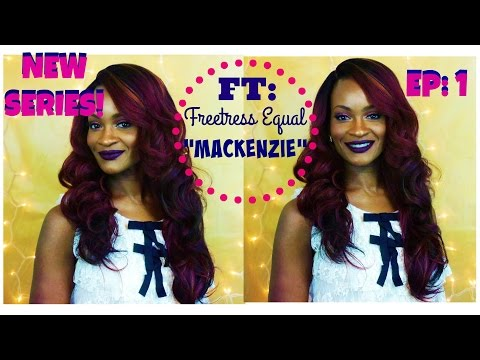 """How To Wear A Wig: Ep:1 FT: Freetress Equal """"MACKENZIE"""""""