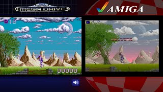 Shadow of the Beast | Amiga & Mega Drive/Genesis | Comparison - Dual Longplay