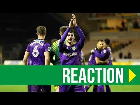 Wolves 2-2 Norwich City: Nelson Oliveira Reaction