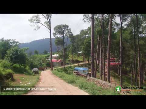 10 MARLA TOP EXTREME LOCATION PLOT FOR SALE IN MURREE RESORTS NEW MURREE