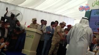 فى يوم رد الجميل : شيوخ وبدو وأهالى سيناء يكرمون الفريق أسامة عسكر