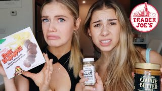 trying weird food from trader joe's..